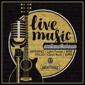Latin music with Mariano. Classic rock with Pollo