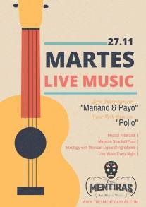 Latin music with Mariano & Payo. Classic rock with Pollo